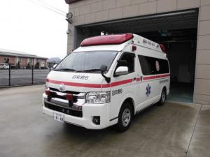 高規格救急車・日田玖珠救急 6