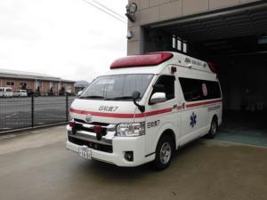 高規格救急車・日田玖珠救急7