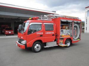 ポンプ車・日田玖珠消防16