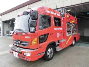 救助工作車・日田玖珠消防22